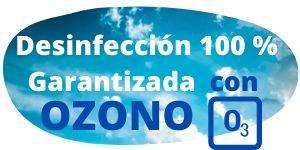 Desinfectamos con OZONO la Casa Rural